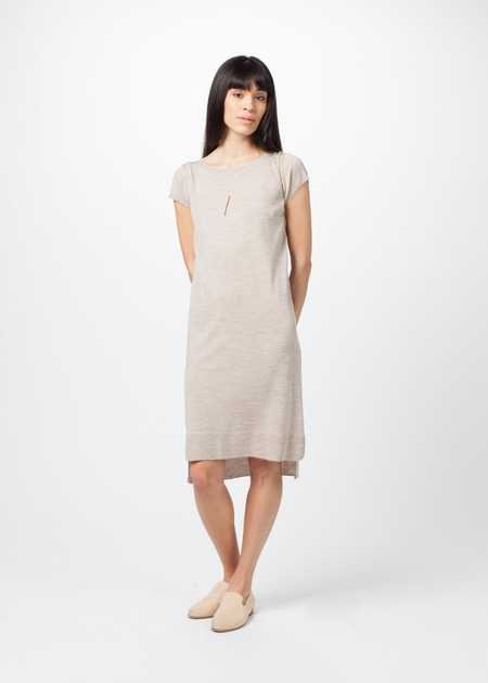 Organic by John Patrick Cap Sleeve Sweater Dress