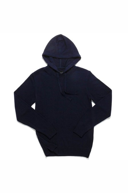 Outclass Bamboo Pullover Hoodie - Navy