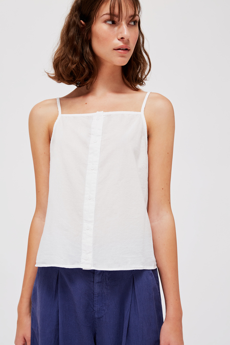 Lacausa Fig Top in Whitewash