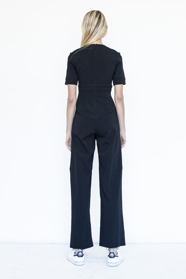 Priscavera Bonded Jersey Jumpsuit