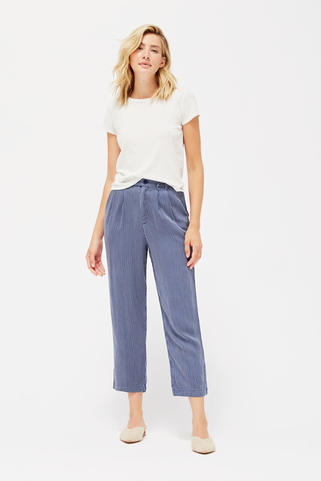 Lacausa Cole Trousers in Pinstripe