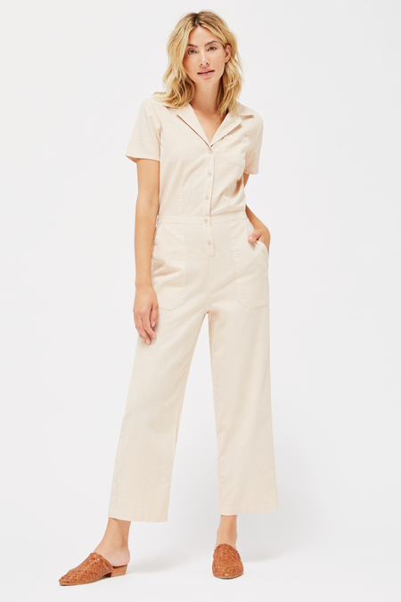 Lacausa Montana Jumpsuit in Biscuit