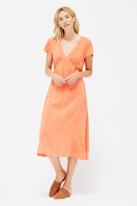 Lacausa Fairfax Vivien Dress in Guava