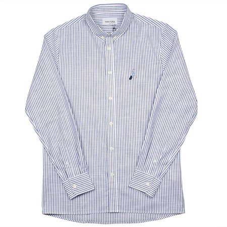 Toka Toka Peter Parasol Shirt - Blue/Navy Stripes