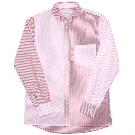 Toka Toka Peter Parasol Shirt - Multi/Pink Stripes