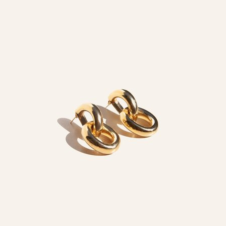 Gabriela Artigas Link Earrings - Gold