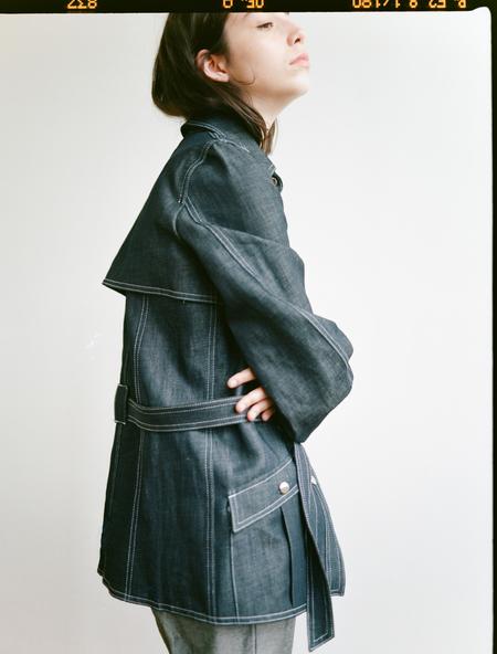 Shaina Mote Maarifa Jacket in Indigo