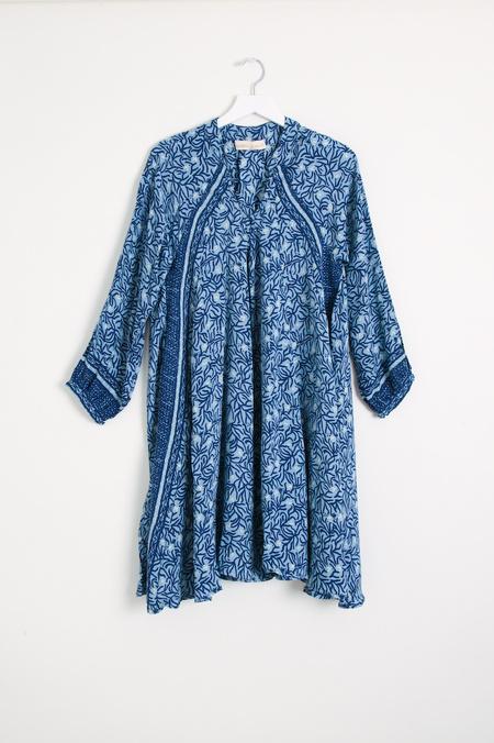 Natalie Martin Fiore Dress - Blue Coral