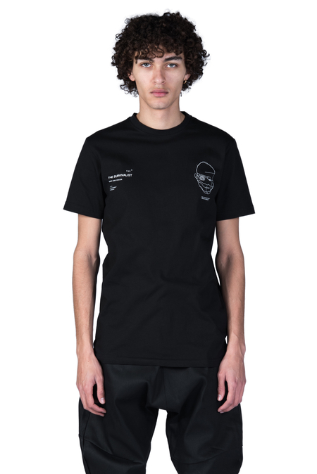 Tobias Birk Nielsen Serigraphy T-shirt - Black