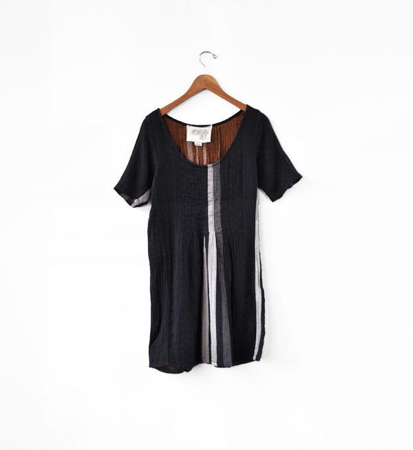 Ace & Jig Shop Dress- Obsidian