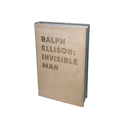 """Graphic Image, Inc """"Ralph Ellison: INVISIBLE MAN"""" DEBOSSED LEATHER BOOK"""