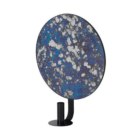 Ferm Living Round Coupled Candle Holder - Blue