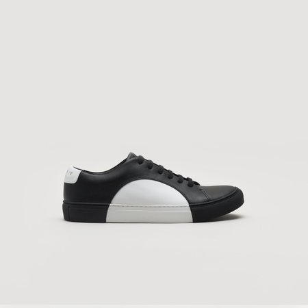 THEY Circle Low Sneakers - Black/White