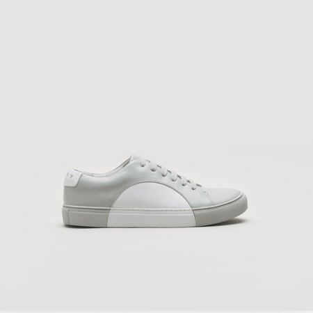 THEY Circle Low Sneaker - Grey/White