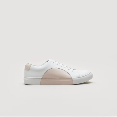 THEY Circle Low - White/Blush