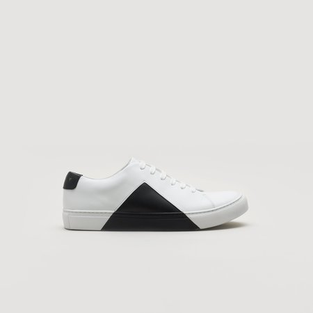 THEY Triangle Low - White/Black