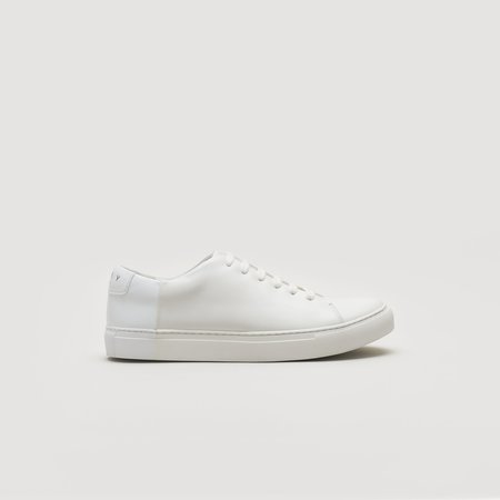 THEY Two-Tone Low sneaker - Off White/White