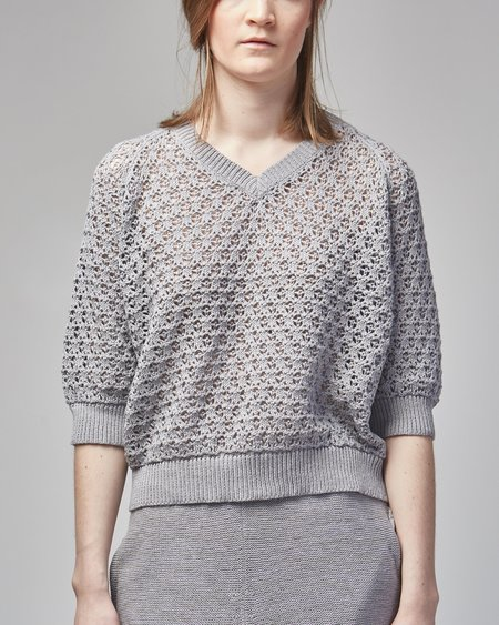 Wol Hide Ash pullover - Lavender grey