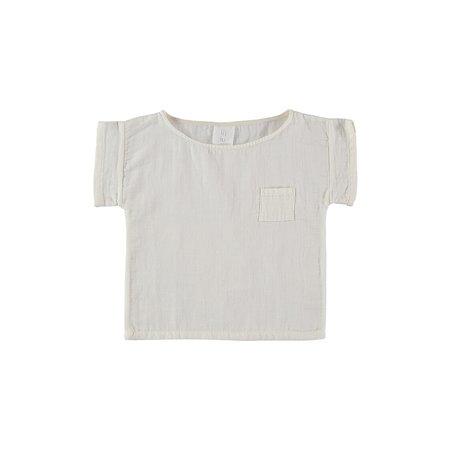 KIDS UNISEX Liilu Pocket T-Shirt - Off White