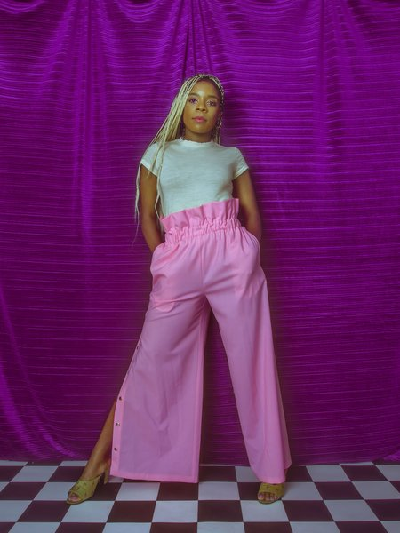 Greta Boldini Gelsa Pants - pink