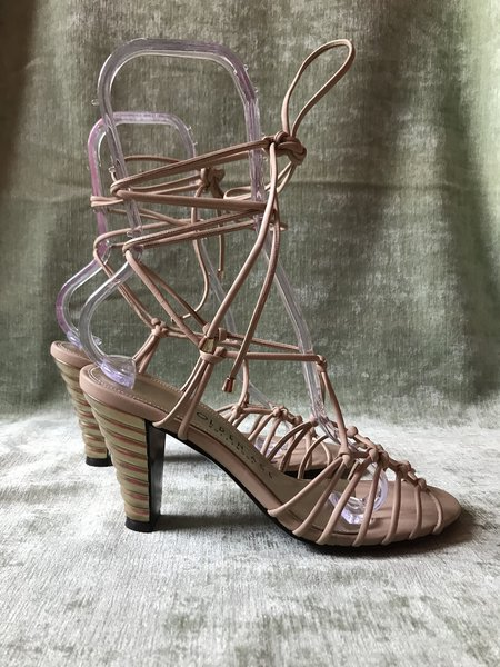 Golden Age Salome Sandals - Nude