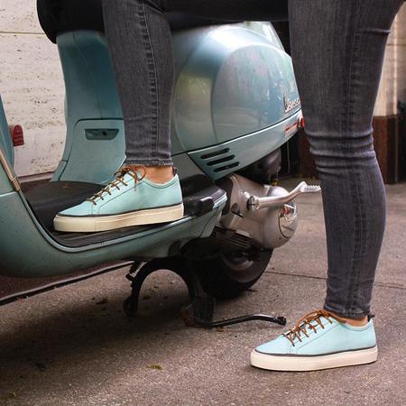 Unisex Noah Waxman Perry Sneakers - Aqua