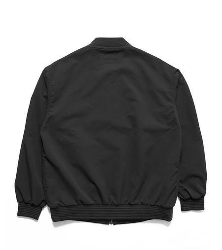 Nanamica Alphadry Varsity Jacket - Black