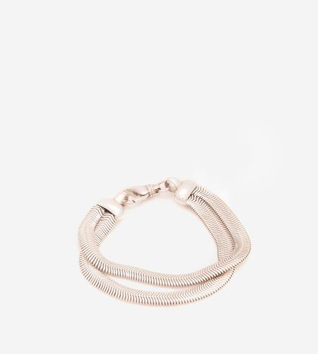 Luz Ortiz Herringbone Bracelet - Sterling Silver