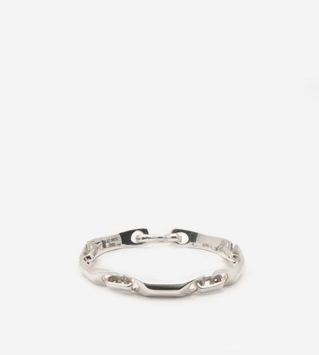 Luz Ortiz Bar Link Bracelet - Sterling Silver