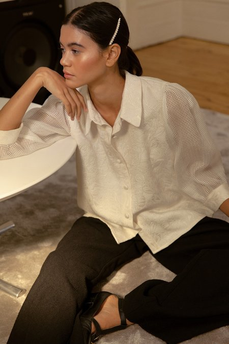 BEFORE MARCH Amelie shirt - Ivory