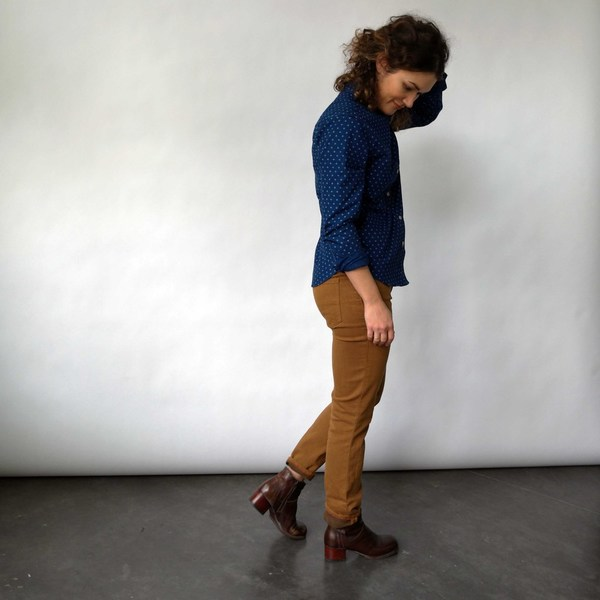 Raleigh Denim Workshop Surry Skinny Jeans in Brulee