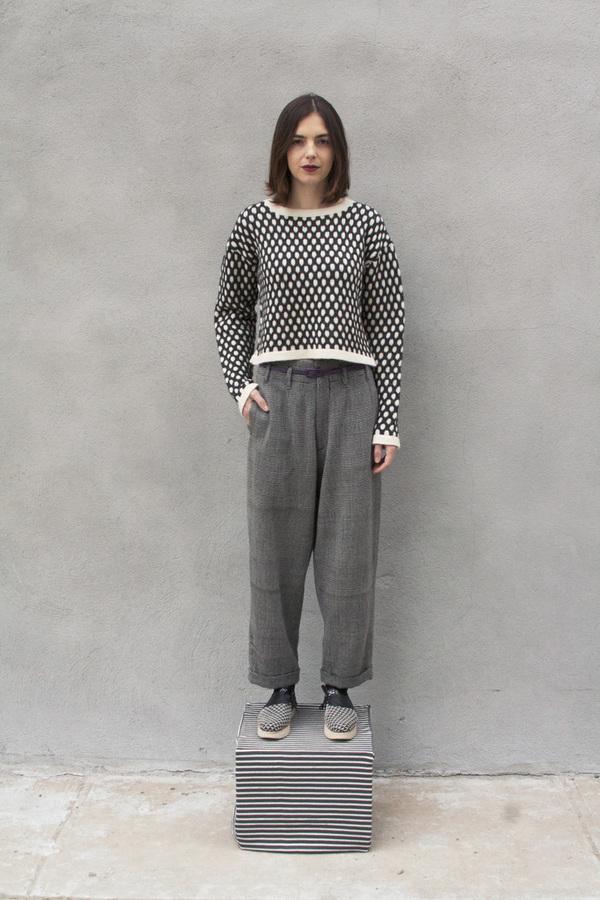 Study NY Honeycomb Sweater
