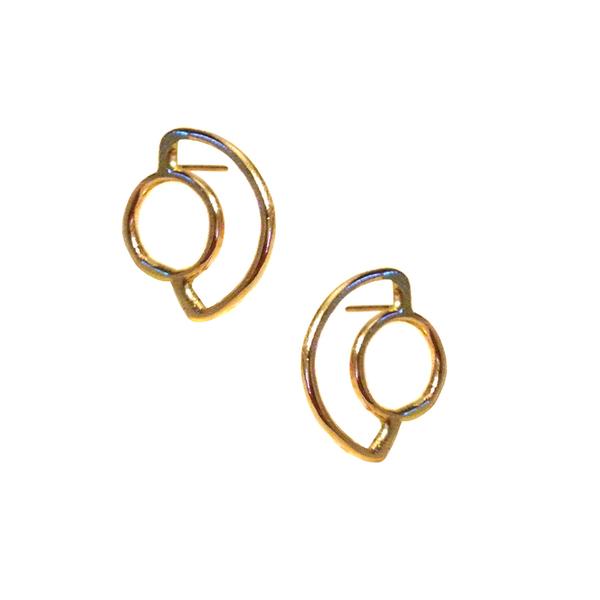 Aoko Su Saturn Rising Earrings