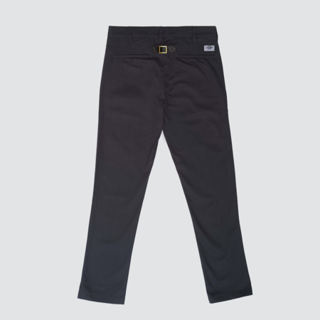 Dickies Construct Construct Straight Slim Pant w/ Buckle - Almost Black