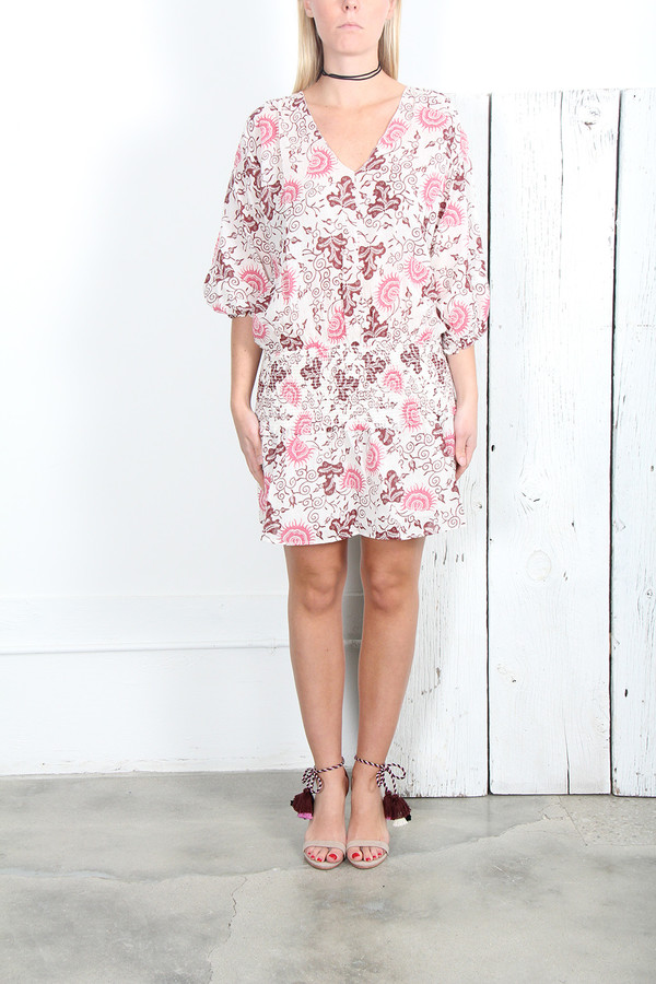 ULLA JOHNSON BATU DRESS in BALI