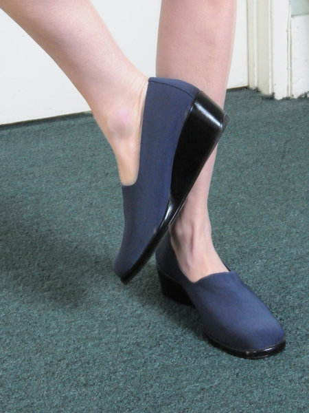 Weird Sisters Vintage Glove Shoes - blue