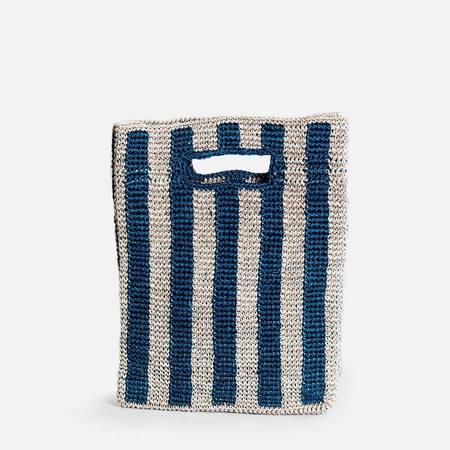 Someware Provence Bag - Peacock Stripe