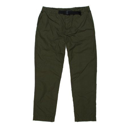 Goldwin Regular Chino Trouser - Olive Green