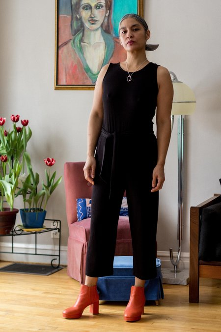Eve Gravel Rhodes Jumpsuit - BLACK