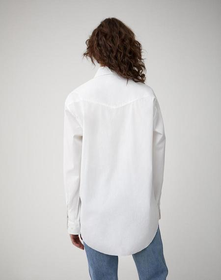 RE/DONE The Classic Shirt - white