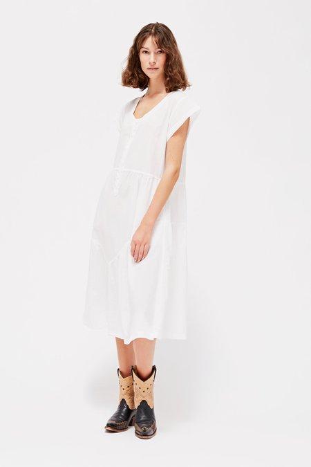Lacausa Virginia Dress - Whitewash
