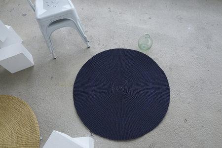 Siku Store Luna Round Mat - Midnight