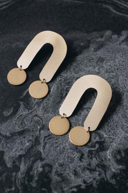 Baleen Atrium Earrings - 14k Gold-plated