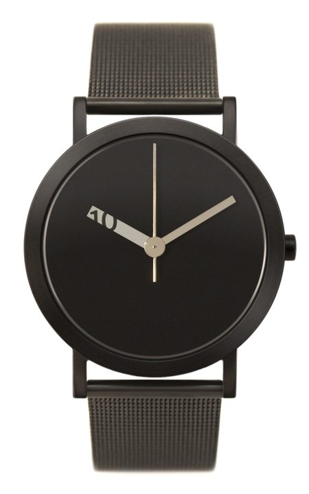 Extra Normal Timespieces Grande EN23-M20BL Watch - Black/Black