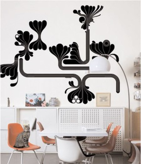 DOMESTIC WATERFALLS WALL STICKER