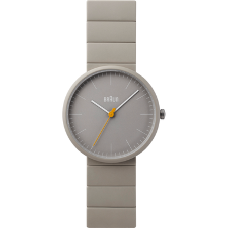 Braun BN-171GYGYG Ceramic Analog watch - Matte Grey