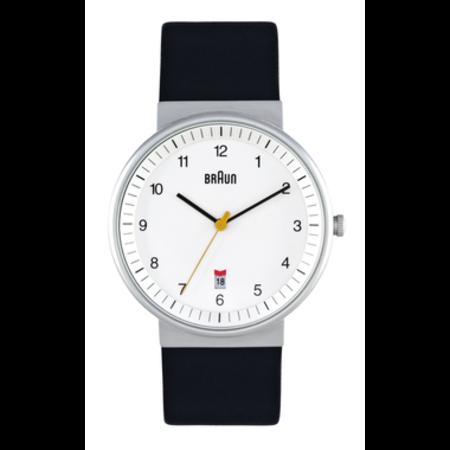 Braun BN-32WHBKG - White dial/black leather