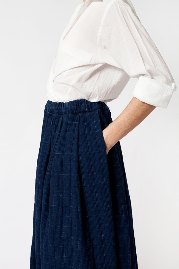 Creatures of Comfort Chantal Skirt - denim