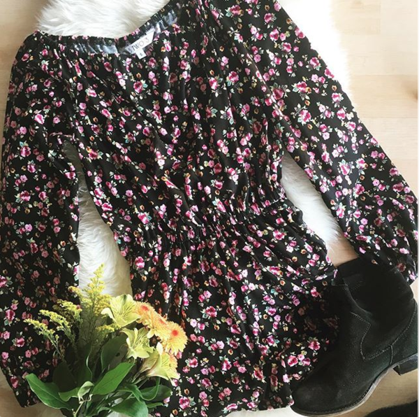 5TWO3 Free Bird Romper - Spring Floral