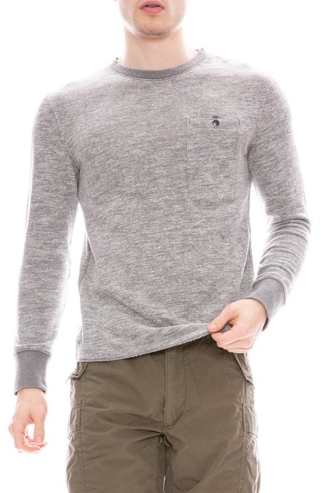 Relwen Windsurf Sweatshirt - Grey Marl